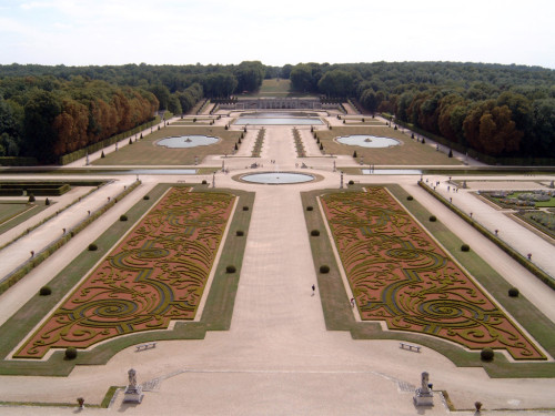 Vaux-le-Vicomte_Garten